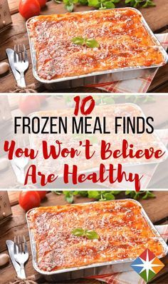 You won't believe these 10 frozen dinner entrees are actually healthy! TV dinners have come a long way in the past decade. Don't be afraid to peruse the frozen food aisle for dinner anymore--you can find a meal that's quick and healthy!