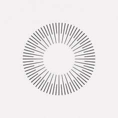 "dailyminimal: "" #OC15-369 A new geometric design every day """