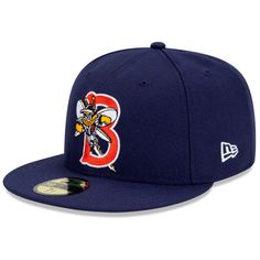 Binghamton Mets Authentic Home Fitted Cap - MLB.com Shop