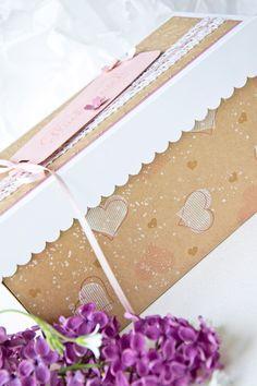 Doppelte Explosionsbox mit großer Hochzeitstorte - wertschatz Boite Explosive, Card In A Box, Stampin Up, Scrap, Boxes, Explosion Box, Paper Mill, Wrapping Gifts, Newlyweds