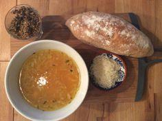 Gresskarsuppe med salvie og permesan av Sven Erik Renaa.