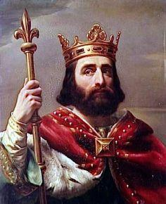 Pippin der Jüngere aus dem Geschlecht der Karolinger wurde 751 zum König der Franken.
