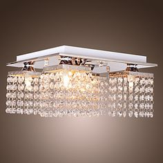 Beaded Ceiling Light with 5 lights in Crystal – USD $ 79.99  Soooo not the right style for my house,,, BUT I want it!
