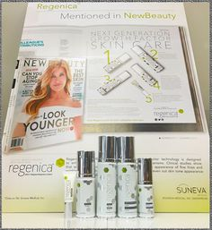 Mentioned in the beauty authority, NewBeauty, Regenica® with MRCx™ is growth factor skin care. Reinvented.