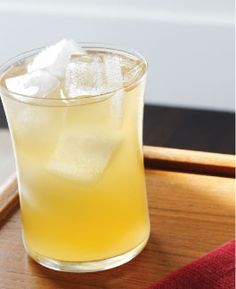 sage and juniper syrup, bitters and ginger beer