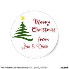 Personalized Christmas Package Gift