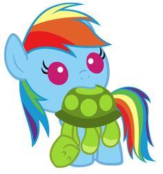 Little Rainbow Dash