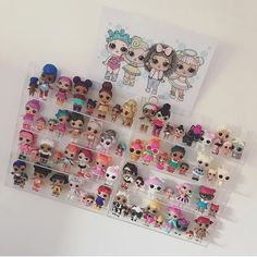 Do your little ladies love LOL Dolls? Order them their own personalised LOL Dolls portrait with 3 of their fave dolls and 1 doll customised to look just like your little lady!! dont miss out! Order now! (photo curtesy of the lovely @amaiya_and_mehkai)