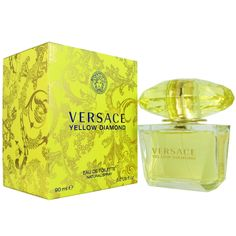 Versace 'Yellow Diamond' Women's 3-ounce Eau de Toilette Spray | Overstock.com Shopping - Big Discounts on Versace Women's Fragrances