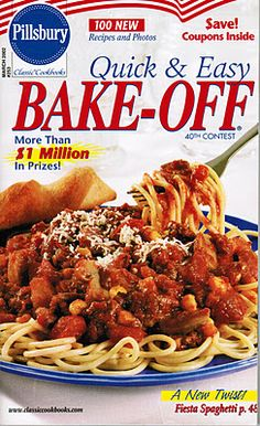 The 40th #BakeOff Cookbook!I USED TO GET THE LITTLE BOOKS OF THESE WAY BACK WHEN
