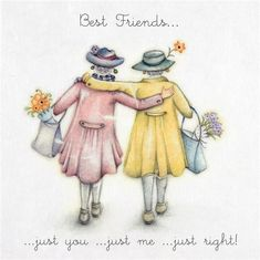 Best Friend Cards, Best Friend Quotes, Cards For Friends, Quote Friends, Beautiful Friend Quotes, Birthday Quotes, Birthday Wishes, Birthday Cards, Girl Friendship