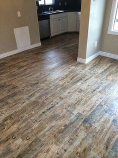 Redwood Natural 6 In X 24 In Glazed Porcelain Floor And