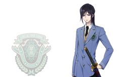 K Project - Yatogami Kuroh Official Art