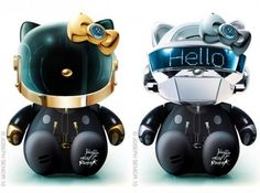 hello-kitty-daft-punk #hellokitty #geek