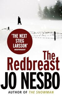 Jo Nesbo #1 The Redbreast | Scandinavian Crime Novels (good mysteries to read while traveling)