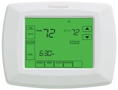 20 Best Honeywell Programmable Thermostat images | Heating, cooling  Wire Thermostat Wiring Diagram Honeywell Ct A on