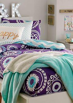 Twin - Boho Chevron 5-Piece Comforter Set | rue21