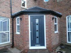 Rockdoor | UPVC Doors | Door Preston | Gallery Front Door Porch, Porch Doors, House Front, Entry Doors, Garage Doors, Front Entry, Porch Gazebo, Upvc Windows, Composite Door