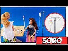 Como fazer: Cama de Hospital para Barbie, Monster High, Baby Alive entre outras! - YouTube