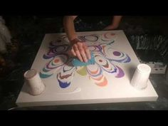 Fluid Painting - Colorful CELLS - YouTube