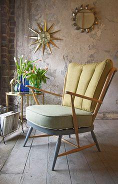 ercol chair refurbished