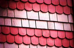 Pink Shingles ~ Jeremy Hurd  Idea for when I paint the girls playhouse