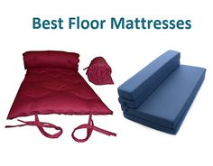 The best floor mattresses are the next best thing after compact heaters! They are portable and easily moved without worrying about taking up too much space.