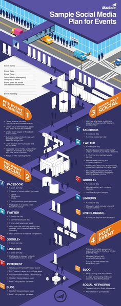 sample social media plan for events