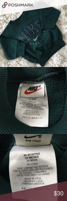98b087dc4842a Vintage Nike logo Kid Toddler sweater Crewneck Excellent condition!!! Nike  Shirts   Tops