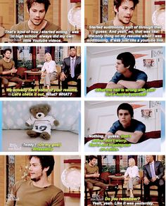 Dylan O'Brien and his illustrious youtube career.