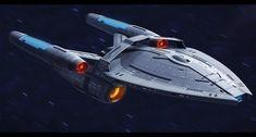 USS Yamato (NCC 91992) WIP by NewPlanComics
