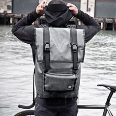 Fitzroy // Large Utility Rucksack is an impenetrable fortress of a pack. Built to last a lifetime with waterproof fabrics and military spec. construction. It also features multiple weatherproof compartments, urethane coated zippers, waterproof materials, and an internal frame sheet. Large zippered pocket fits most 17'' laptops, with smaller zippered pockets for your gear. Made in the USA with a lifetime warranty.