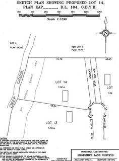 Lot 14 property plan in Spall Vista Estates. Gorgeous British Columbian property in the Okanagan Valley. acres overlooking the Spallumcheen Golf and Country Club. Lots For Sale, Commercial Real Estate, Investment Property, British, Golf, Club, How To Plan, Country, Rural Area