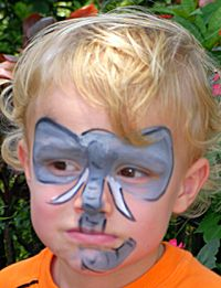 Hippo face paint | Zoo Party | Pinterest | Galleries ...