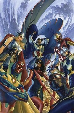 All-New All-Different Avengers #1 Cover A Regular Alex Ross Cover - Midtown Comics