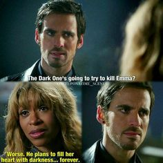 Hook's face at the end!!!
