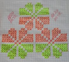 Beş şiş çetik(patik) ve tunusişi patiklerde kullanılabilecek desenlerin çizimleri... Knitting Patterns Free, Free Pattern, Quilt Blocks, Embroidery Stitches, Cross Stitch Patterns, Diy And Crafts, Quilts, Beads, Sewing