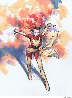 Dark Phoenix by Cary Nord