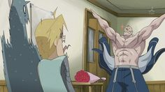 Full Metal Alchemist: Brotherhood  -ARMSTRONG!!!!~ *Twinkle*-