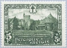 Sello: Castles (Bélgica) (Castles) Mi:BE 297,Bel:BE 314