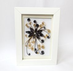 Paper Quilling Art Frame Quilled Art Frame by ElinaQuills