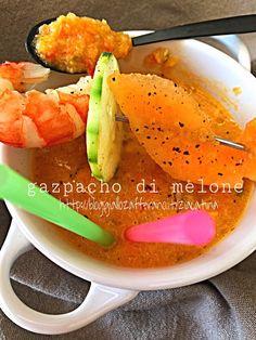 Perchè la solita versione? Provate il Gazpacho di melone!