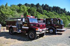 Fire Trucks, Skywalker Ranch Fire Department - #Wildland #Brush #BrushTruck #Rescue #Setcom #Pumper #Fire #FireDept #Firefighting #Apparatus