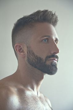 Men Hair Styles With Beard