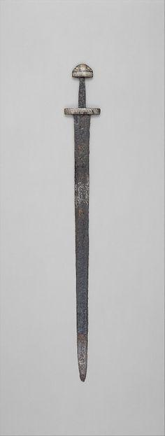 Sword Viking, 10th century The Metropolitan Museum of Art
