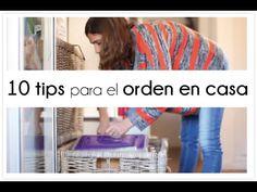 10 trucos sobre como me organizo en casa - YouTube