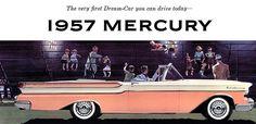 1957 Mercury Monterey Convertible.