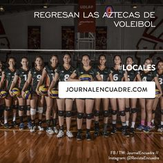 Revista Encuadre » Regresan las Aztecas de voleibol