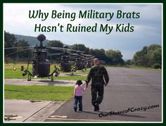 Being a military child doesn't doom them to a life of ruin. It gives them opportunities to become exceptional people.#military brat