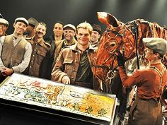 WAR HORSE celebrates one year on Broadway